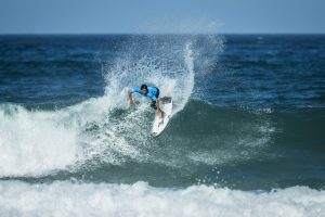 Jeremy Flores (FRA) Placed 1st in Semis 2 at Billabong Pro Cascais 16