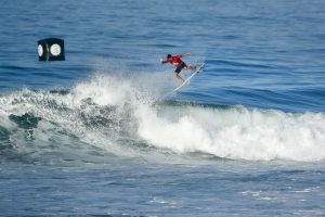 Gabriel Medina of Brazil will surf in Round Two after placing second in Heat 1 of Round One at the Oi Rio Pro at Saquarema.