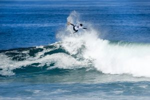 Trials winner Yago Dora will surf Round Two after placing second in Heat 6 of Round One at the Oi Rio Pro at Saquarema, Rio de Janeiro, Brazil.