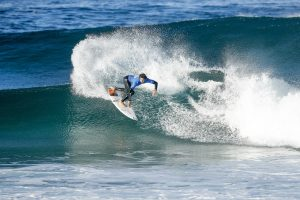 Trials winner Yago Dora of Brazil caused a major upset by eliminated World Champion and Jeep Rankings Leader John John Florence of Hawaii in Heat 6 of Round Three of the Oi Rio Pro at Saquarema, Rio de Janeiro, Brazil.